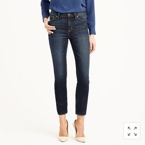 J.Crew Lookout High-rise Crop Jean 28- gently worn